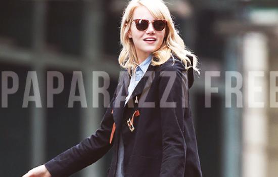Site News: Emma Stone Daily is paparazzi free now!