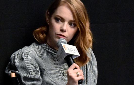 Emma attends 'The Favourite' BAFTA film screening in New York