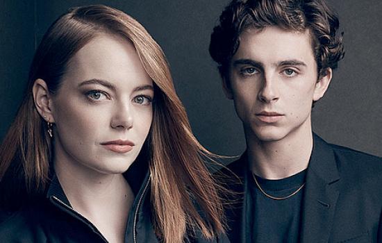 Emma Stone & Timothée Chalame for Variety's Actors on Actors