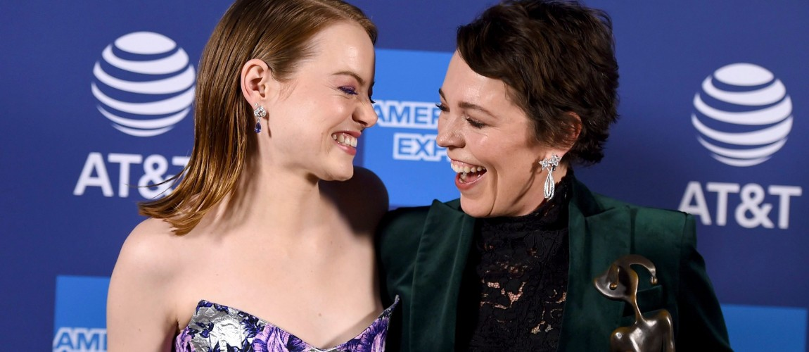 Emma Stone attends the Palm Springs International Film Festival!