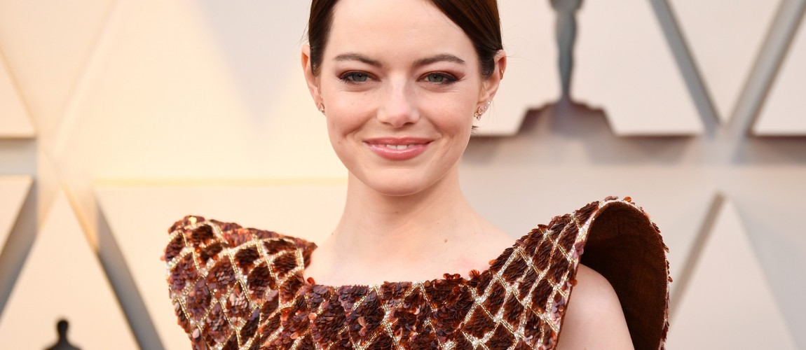 Emma Stone attends the 91st Annual Academy Awards