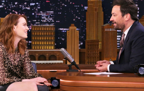 """Emma Stone visits the """"The Tonight Show""""!"""