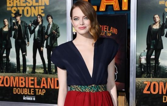 Emma Stone attends the 'Zombieland 2' L.A. Premiere!